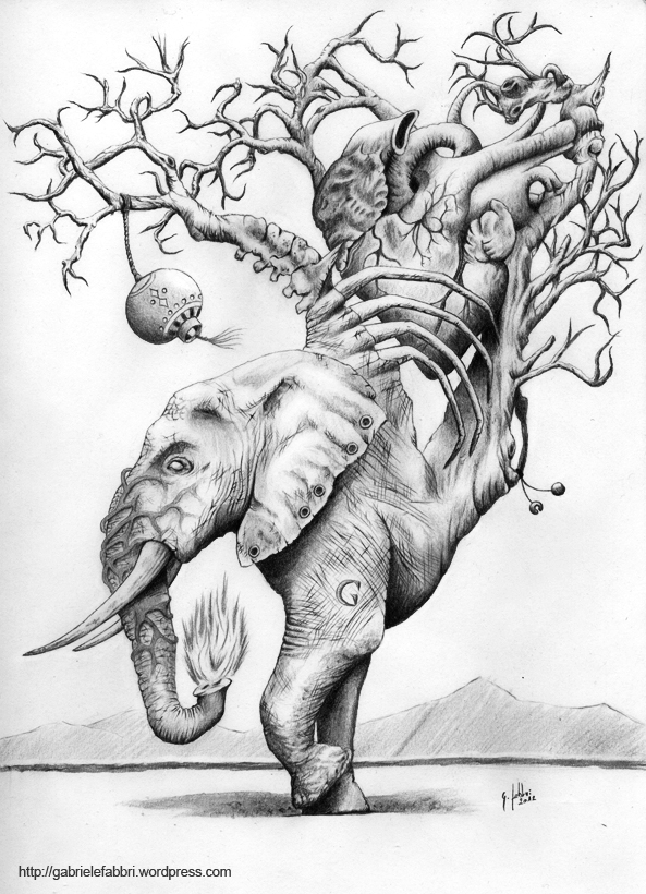 Gallery For gt Pencil Drawings Of Evil Creatures